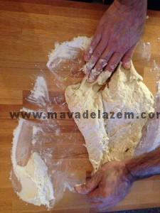 مرحله تهیه خمیر