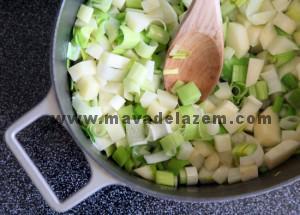 طرز تهیه سوپ پارمنتیر