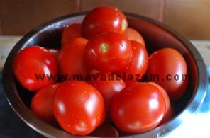 مواد اولیه برای طرز تهیه آش گوجه فرنگی