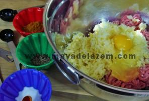 مواد اولیه طرز تهیه کتلت