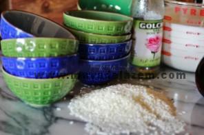 مواد اولیه طرز تهیه شیر برنج